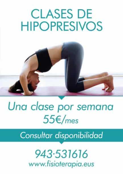Clases de hipopresivos en Donostia - San Sebastián.